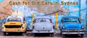 cash for old cars sydney