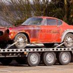 towing junk car for cash